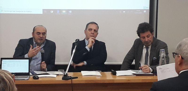 Prof Riccardo Prandini, Direttore Ciro Intino, giornalista Luca Guazzati